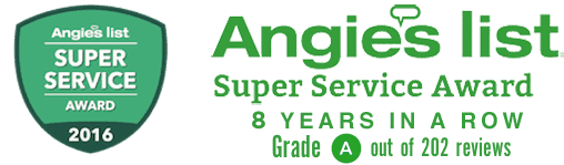 Foundation Repair Los Angeles Angieslist award