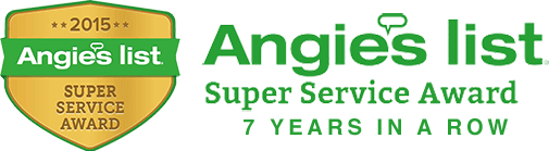 Angieslist Foundation Repair Los Angeles super service award