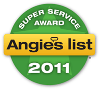 Structural Engineering 2011 Angieslist Super Service Award