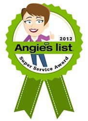 Foundation Contractor Alpha Structural's 2012 Angieslist Super Service Award