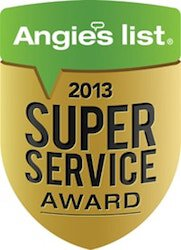 Alpha Structural's Foundation Repair 2013 Angieslist Super Service Award