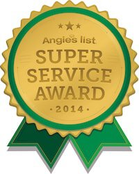 Foundation Repair Award 2014 Angieslist Super Service