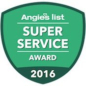Foundation Repair 2016 Angieslist Super Service Award