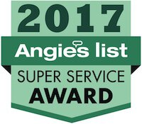 Foundation Repair 2017 Angieslist Super Service Award
