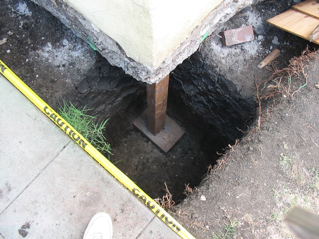 Concrete Ceiling Foundation Underpinning Gallery Los Angeles Foundation