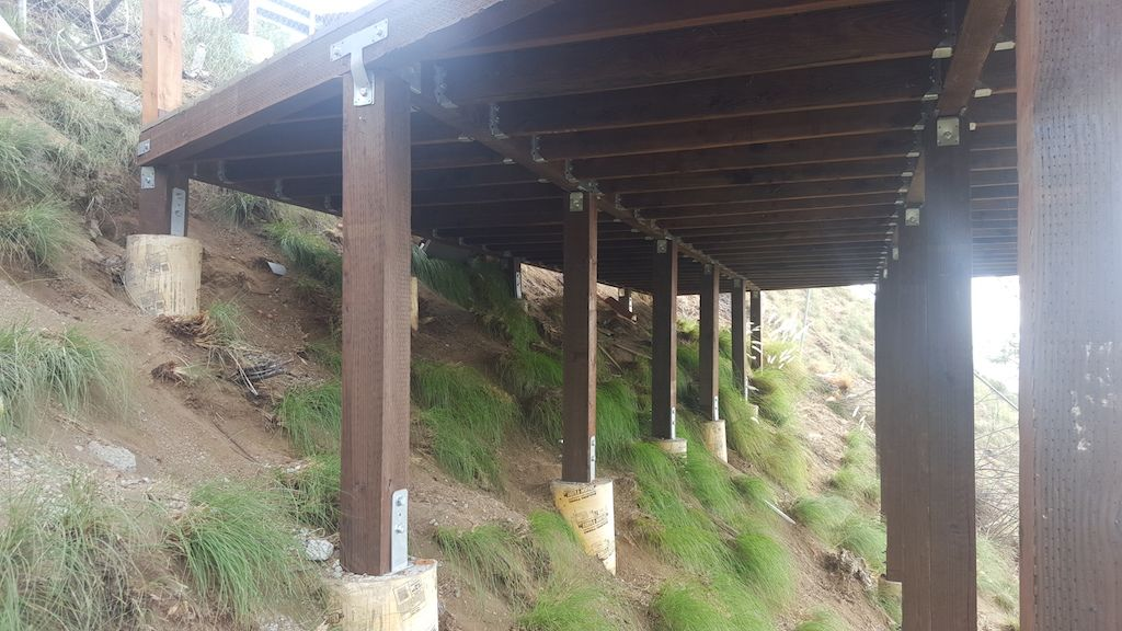 Hillside Deck Repair Los Angeles