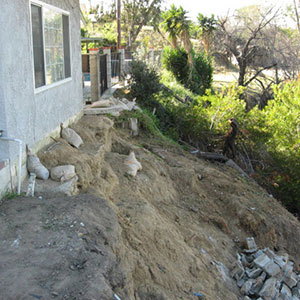 Hillside Repair